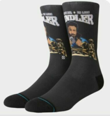 Stance Star Wars Double Cross No Good Swindler Socks SZ Large