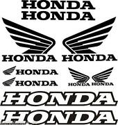 Aufkleber Set Honda