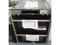AEG DUE431110M Electric Built under Double Oven Stainless Steel & Black RRP £779