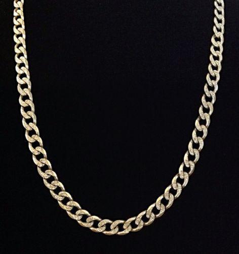 Mens Heavy Sterling Silver Chain Ebay