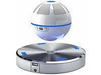 ICE Orb Floating Bluetooth Speaker - White/Blue