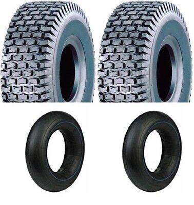 2 Stück Reifen inkl. Schlauch 13x5.00-6 4PR ST-50 Rasentraktor Aufsitzmäher Neu