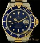 Mens Rolex Watch 18K