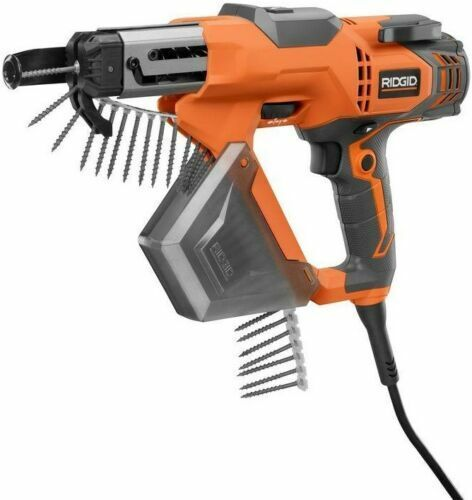 New- RIDGID 3 in.Drywall Deck Collated Screw Gun 6.5 Amp Lightweight Corded