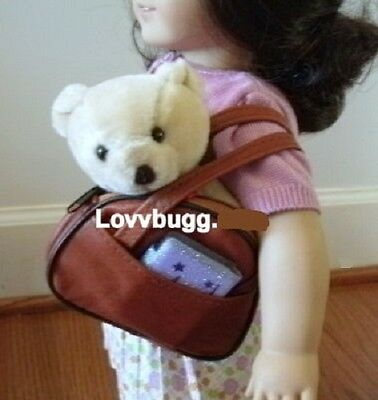 "Lovvbugg Carry-On Bag wirh Goodies for 18"" American Girl Doll Accessory"