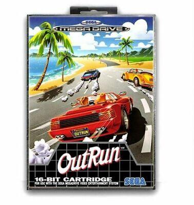 OUTRUN Sega Mega Drive Game Cartridge with Box