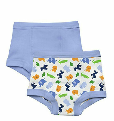 2 pk Green Sprouts Boys Washable Potty Training Pants Underw