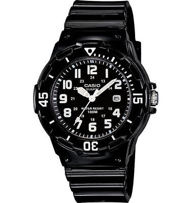 Casio LRW200H-1BV, Women's Analog Black Resin Band, 100 Meter, Date