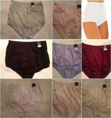 womens panties Vanity Fair Perfectly Yours RAVISSANT nylon Briefs SIZES 6-12 Z4 (Womens Nylon Briefs)