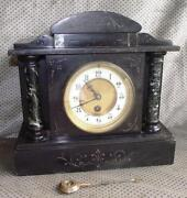 Slate Mantle Clock