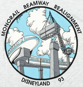 DISNEY STAFF SHIRTS 1995 1993