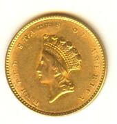 1854 Gold Dollar