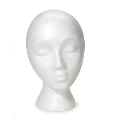 Mn-324 Female Abstract Styrofoam Mannequin Head