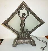 Antique Metal Lamp
