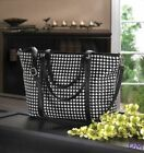 Houndstooth Extra Large Clutch Bags & Handbags for Women