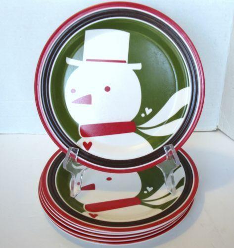 Melamine Christmas Plates Ebay