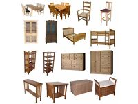 Unwanted furniture including sofas, chairs, tables, coffee tables, cabinets, bureaus, bookcases etc