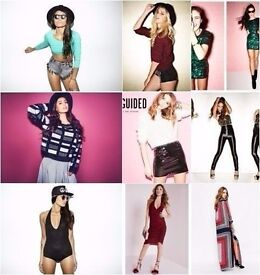 WHOLESALE JOBLOT MISSGUIDED Designer Clothing x 100 Brand New with Tags