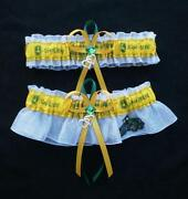 Double Heart Wedding Garter