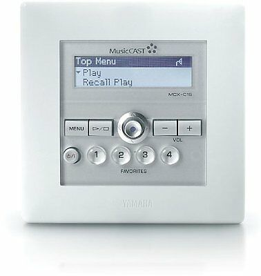 Yamaha Music Cast In-wall Client Controller Mcx-c15 For M...