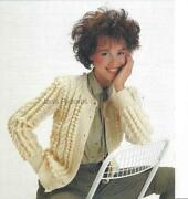 Ladies Aran Cardigan Knitting Patterns