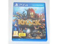 SONY PLAYSTATION PS4 GAME THE KNACK PAL 12 DOLBY DIGITAL HD GEM MAN & INSERT BOX