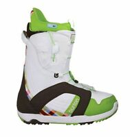 Burton Mint White/brown/green Women's Boots Scarponi Da Snowboard Donna - burton - ebay.it