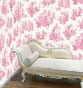 Toile de Jouy Wallpaper