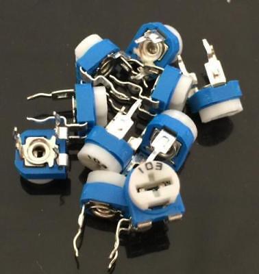 10k Ohm Trimpot Trimmer Potentiometer Pot Variable Resistor Rm065-103 X10