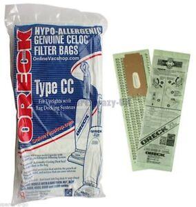 4 Genuine Oreck XL type CC Vacuum Bags CCPK8DW