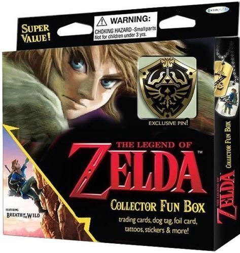The Legend of Zelda Collector Fun Box [Breath of Wild] NEW, FACTORY SEALED NEW