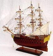 Schiffsmodell Holz