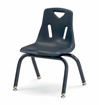 Childrens Heavy Duty School Stacking Desk Chair W Noise Free Glide Legs 12