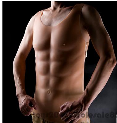 IVITA Hunk shoulder Muscle stronger Man Silicone Fake shoulder Muscle cosplay