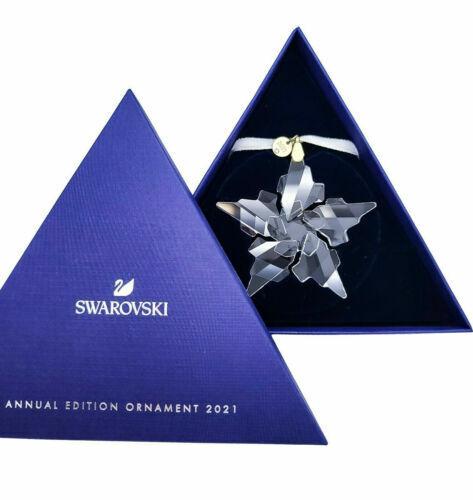 SWAROVSKI CRYSTAL 2021 ANNUAL EDITION ORNAMENT Christmas gifts 5557796