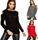 Long Sleeve Cold Shoulder Sleeve Long Sweaters for Women