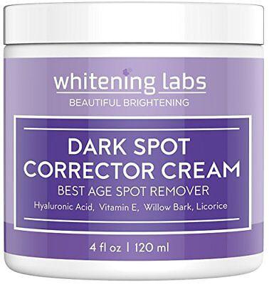 Dark Spot Corrector Cream - Best Age Spot Remover for Face 4oz