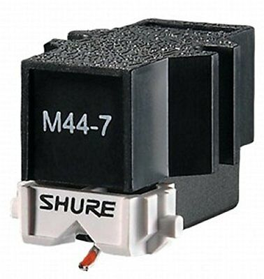 SHURE M44-7 Phono Cartridge for Scratch DJs and Turntable Player from Japan :322