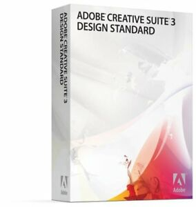ADOBE CREATIVE SUITE 3 – DESIGN STANDARD POUR MAC – VERSION EDUC