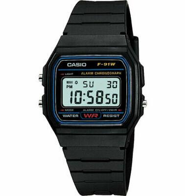 Casio F91W1 Men Classic Sport Digital Watch F91W-1 New for Men