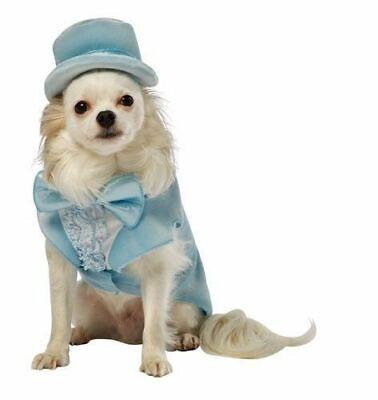 Dumb And Dumber Harry Dunne Tuxedo Dog Pet Costume Halloween Blue White - Harry Dunne Kostüm