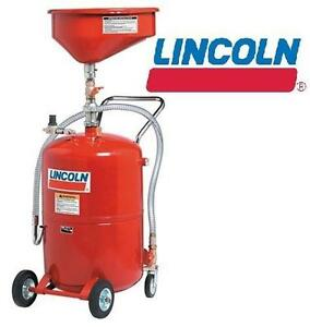 NEW* PRESSURIZED USED OIL DRAIN - 132752280 - LINCOLN LUBRICATION EVACUATION