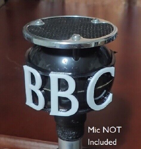 BBC Reproduction Call Letters for Vintage Coles/STC 4021 Apple and Biscuit Mics