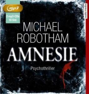 Michael Robotham - Amnesie - MP3-CD NEU OVP
