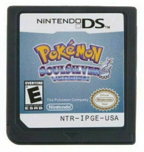 New Pokemon SoulSilver Game Card for Nintendo DS Game card For DS 2DS 3DS US