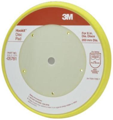 "3m 3M-5781 Hookit Disc Pad 05781, 8"""