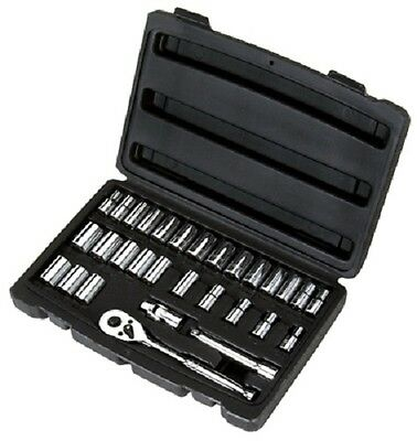 "Stanley 30-Piece Socket Set, .25"" Drive, SAE, 92-804"