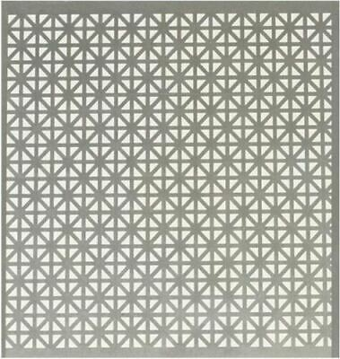 3 Pack Decorative Union Jack Style 1x2 Perforated Sheet Metal Rust Resistant