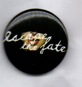 ESCAPE THE FATE - NEW PIN BADGE - AMERICAN POST HARDCORE BAND - PUNK  ROCK METAL