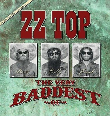ZZ TOP - THE VERY BADDEST OF: CD ALBUM (Greatest Hits) (Released June 9th 2014)